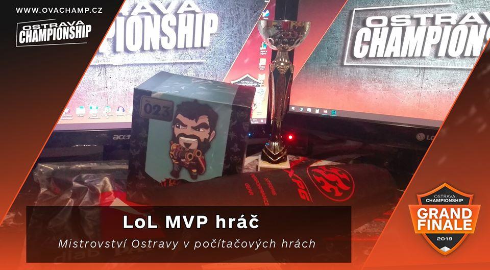Na GRANDFINÁLE LoL vyhlásíme MVP hráče!